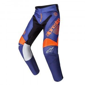 Alpinestars Broek Racer Braap Limited Indianapolis Edition Blue/Orange-30