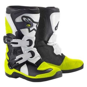 Alpinestars Kids Crosslaarzen Tech 3S Black/White/Yellow