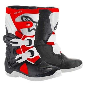 Alpinestars Kids Crosslaarzen Tech 3S Black/White/Fluor Red