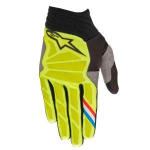 Alpinestars Handschoenen Aviator Fluor Yellow/Black