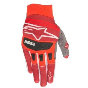 Alpinestars Handschoenen Techstar Red/Burgundy