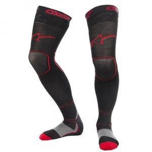 Alpinestars MX Long Socks Black/Red