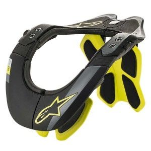 Alpinestars BNS Tech-2 Neckbrace Black/Fluor Yellow