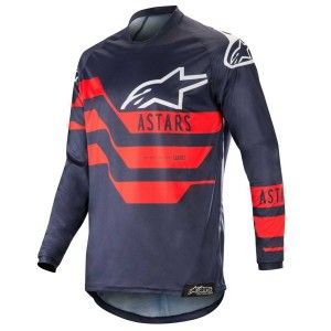 Alpinestars Crossshirt Racer Flagship Dark Navy/Blue/Red