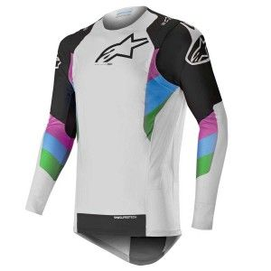 Alpinestars Crossshirt Supertech Cool Gray/Black