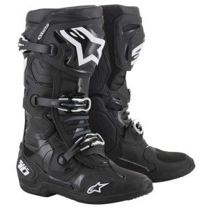 Alpinestars Crosslaarzen Tech 10 Black (model 2019)