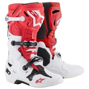 Alpinestars Crosslaarzen Tech 10 Red/White/Black (model 2019)