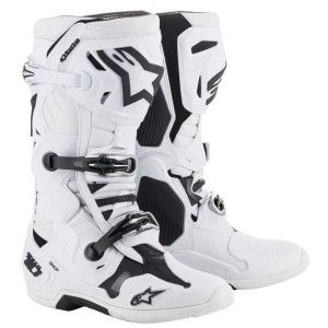 Alpinestars Crosslaarzen Tech 10 White (model 2019)