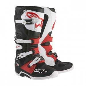 Alpinestars Crosslaarzen Tech 7 Black/White/Red