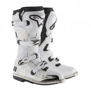 Alpinestars Crosslaarzen Tech 8RS White