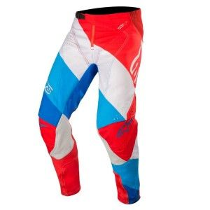 Alpinestars Crossbroek Techstar Venom Red/White/Blue