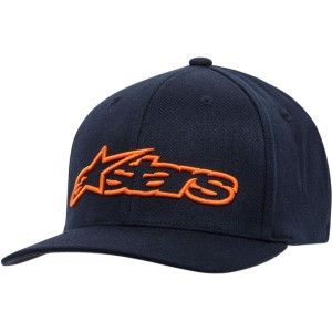 Alpinestars Blaze Flex-Fit Pet Navy/Orange