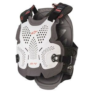 Alpinestars Chest Protector A-4 Max White/Black