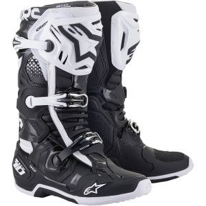 Alpinestars Crosslaarzen Tech 10 Black/White