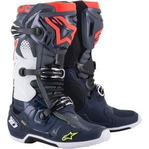 Alpinestars Crosslaarzen Tech 10 Blue/Red/Grey