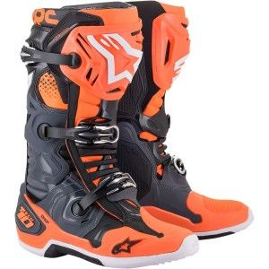 Alpinestars Crosslaarzen Tech 10 Orange/Grey