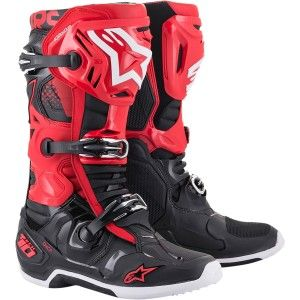 Alpinestars Crosslaarzen Tech 10 Red/Black