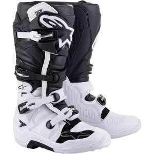 Alpinestars Crosslaarzen Tech 7 Black/White