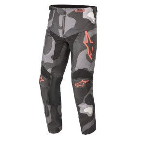 Alpinestars Kinder Crossbroek Racer Tactical Camo red