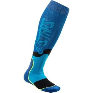 Alpinestars MX Plus-2 Crosssokken Blue