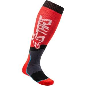 Alpinestars MX Plus-2 Crosssokken Red/Grey