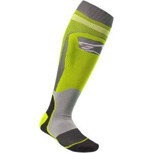 Alpinestars MX Plus Crosssokken Fluor Yellow