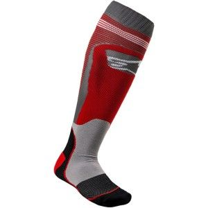 Alpinestars MX Plus Crosssokken Red/Grey