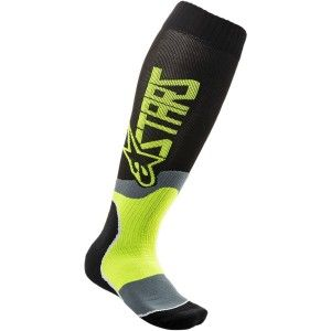Alpinestars MX Plus-2 Crosssokken Fluor Yellow