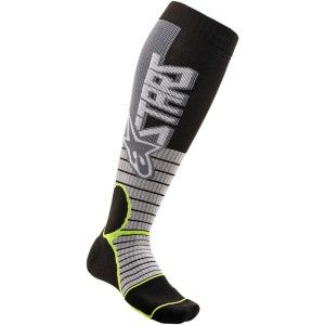 Alpinestars MX Pro Crosssokken Grey/Fluor Yellow