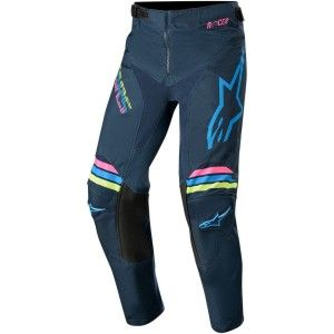 Alpinestars Kinder Crossbroek Racer Braap Aqua/Navy
