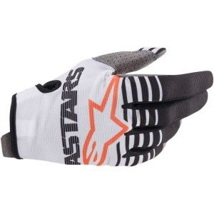 Alpinestars Radar Crosshandschoenen White/Black