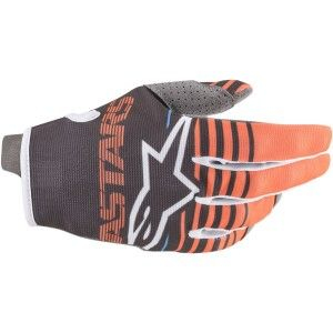 Alpinestars Radar Crosshandschoenen Anthracite/Orange Fluor