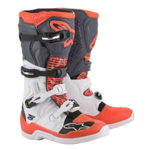 Alpinestars Crosslaarzen Tech 5 Red/Black/White