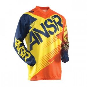 Answer Shirt Syncron Orange/Yellow XXL