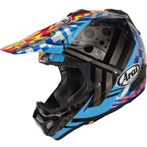 Arai Crosshelm MX-V Barcia II Blue
