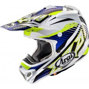 Arai Crosshelm MX-V Slash Blue