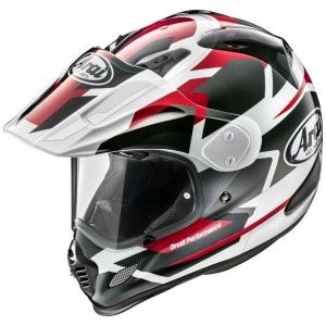 Arai Tour X-4 Endurohelm Depart Red Metallic