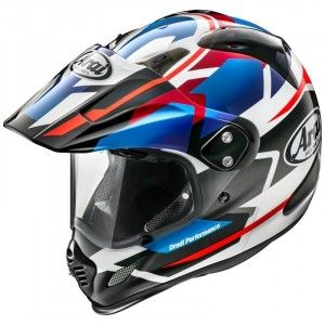 Arai Tour X-4 Endurohelm Depart Blue Metallic
