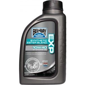 Bel-Ray EXP Synthetic Ester Blend 4T Oil 10W-40 1 Liter