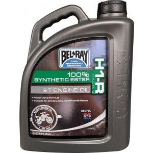Bel-Ray H1-R Racing 100% Synthetic Ester 2T Oil-4 Liter