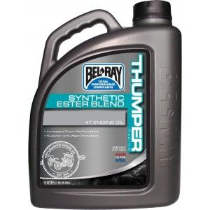 Bel-Ray Thumper Racing Synthetic 4T Olie 10W-40 4 Liter
