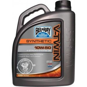 Bel-Ray V-Twin Synthetic Motor Oil 10W-50 4 Liter