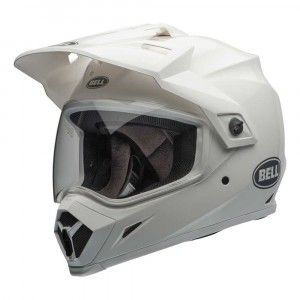 Bell Crosshelm/Endurohelm MX-9 Adventure MIPS® Gloss White