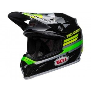 Bell Crosshelm MX-9 MIPS® Pro Circuit 2020 Green/Black
