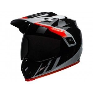 Bell Crosshelm/Endurohelm MX-9 Adventure MIPS® Dash Gloss Black/White/Orange
