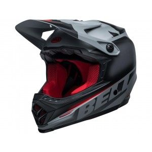 Bell Moto-9 MIPS Youth Crosshelm Glory Black/Gray/Crimson