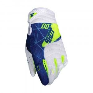 Shot Crosshandschoenen Contact Infinite Blue/White/Neon Yellow