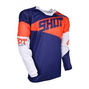 Shot Crossshirt Contact Infinite Blue/Neon Orange