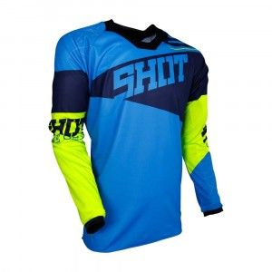 Shot Crossshirt Contact Infinite Blue/Neon Yellow