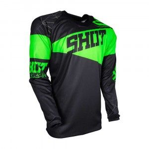 Shot Crossshirt Contact Infinite Neon Green